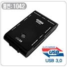 [<font color=red>품절</font>]USB3.0 더블SD계올인원카드리더