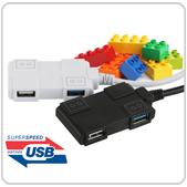 USB3.0+USB2.0 블럭 4포트 허브